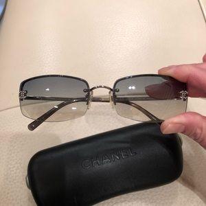 Chanel tinted sunglasses